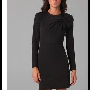 DIANE von FURSTENBURG Anneli Black mini dress